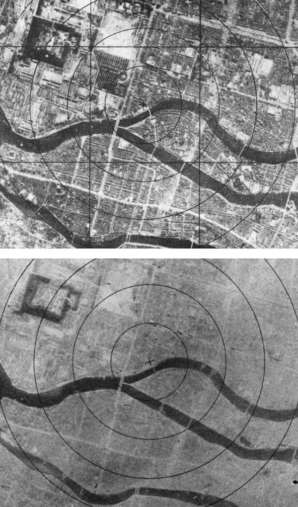 Аэрофотосъемка Хиросимы
